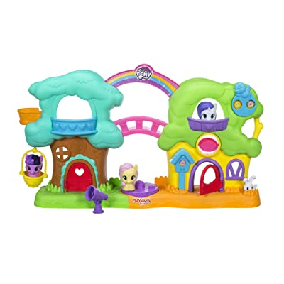 Playskool Friends My Little Pony Spin 'n Sounds Treehouse Cottage: Toys & Games