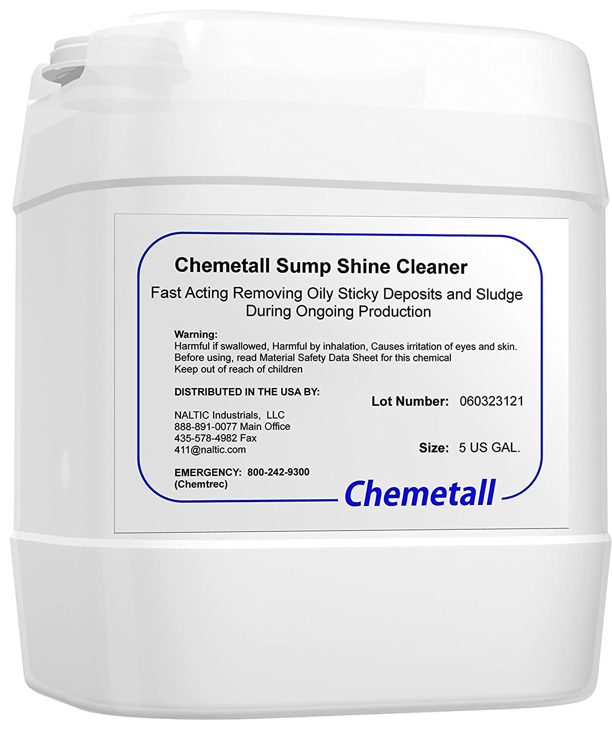 Chemetall Sump Shine 55 US Gallon: Amazon com: Industrial