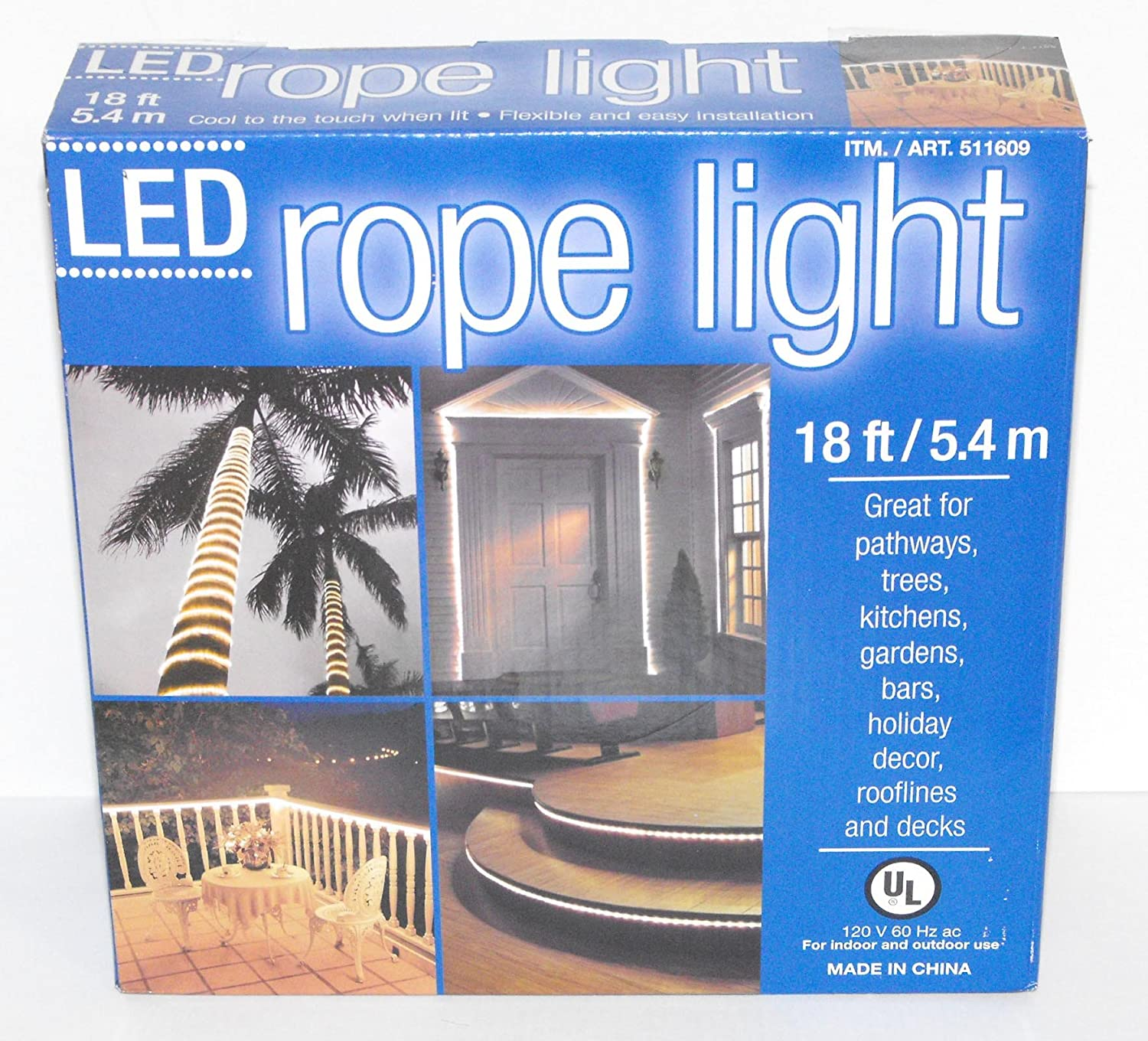 Amazon 18 everstar flexible rope led lighting great for amazon 18 everstar flexible rope led lighting great for pathways trees holidays more home improvement aloadofball Choice Image