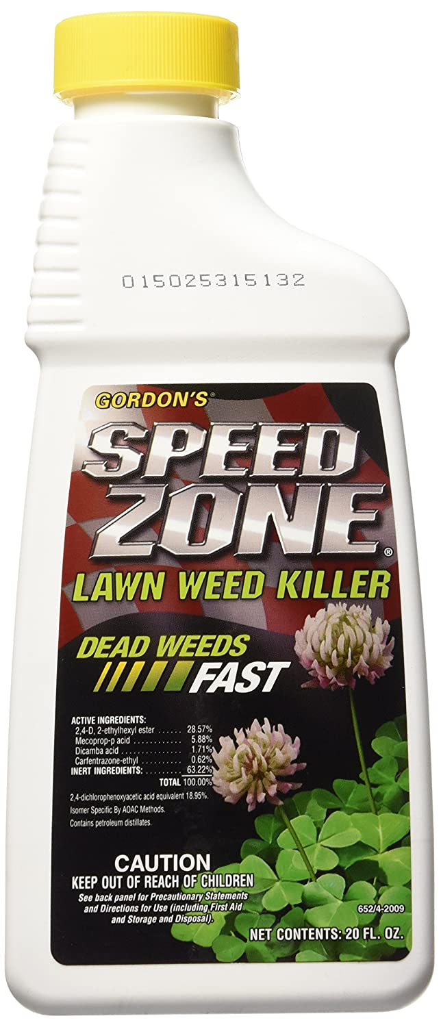 PBI/Gordon Speed Zone Lawn Weed Killer works fast and covers a large amount of land