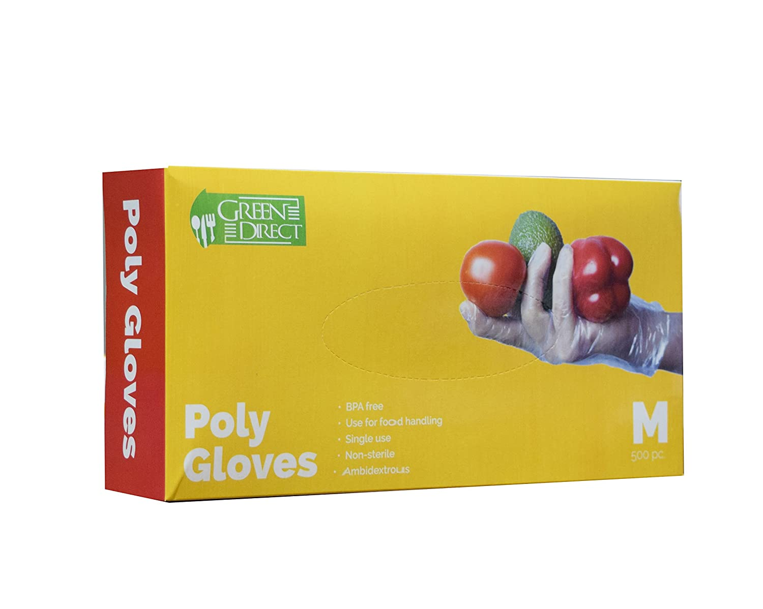 com green direct food grade pe disposable gloves food com green direct food grade pe disposable gloves food preparation poly gloves bpa box of 500 size large home improvement