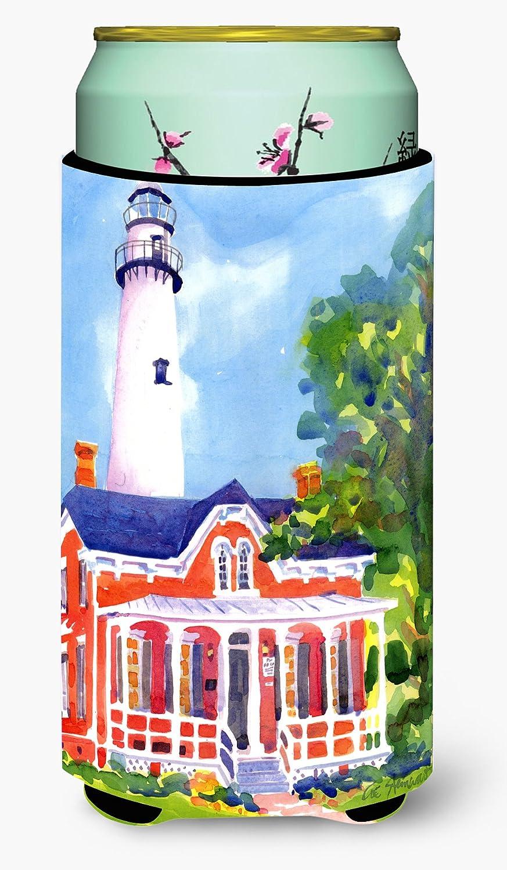 Caroline's Treasures 6044TBC Lighthouse Tall Boy Beverage Insulator Beverage Insulator Hugger, Tall Boy, multicolor