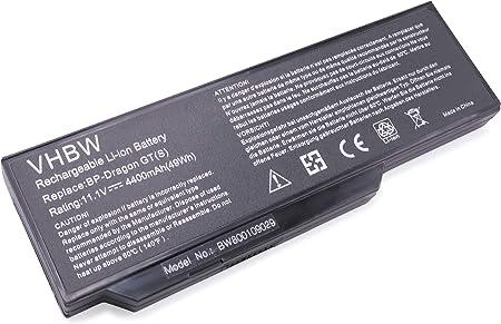 Vhbw Li Ion Akku 4400mah Für Notebook Laptop Medion Elektronik