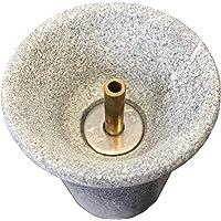 Weigand Saunabrunnen L I Der schöne Springbrunnen aus Speckstein I Einfach zwischen die Saunasteine stellen I Saunazubehör I Springbrunnen I Geschenk I Weigand® Wellness