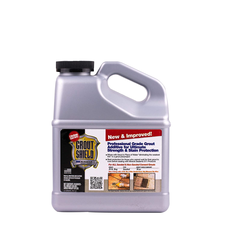 Miracle Sealants GRSHNI2 Grout Shield New & Improved, 72oz Penetrating Sealers, 72 oz