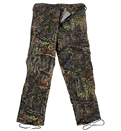 27561df2c4544 Amazon.com : Clarkfield Outdoors Big & Tall BDU Camo Hunting Pants : Sports  & Outdoors