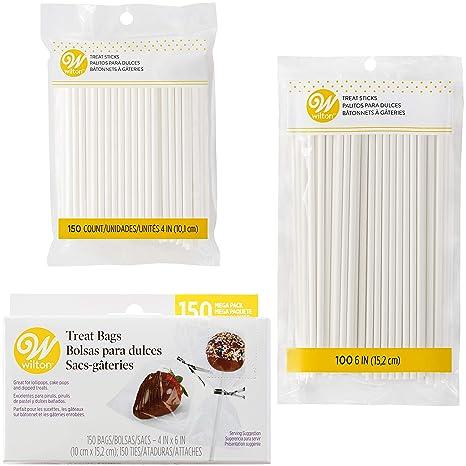 Amazon.com: Wilton Cake Pop and Lollipop Party Favor Kit, 3 ...