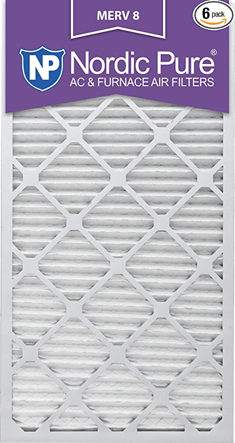 Nordic Pure 12x18x1 MPR 1900 Healthy Living Maximum Allergen Reduction Replacement AC Furnace Air Filters 2 Pack