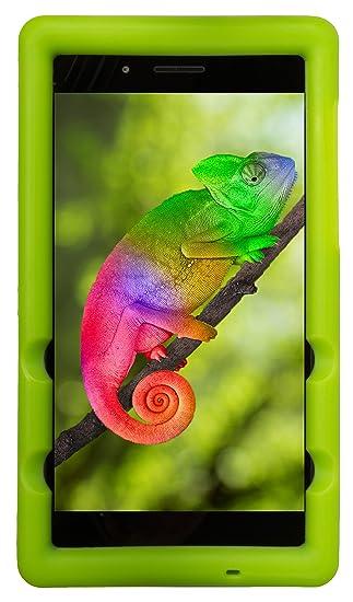 BobjGear Bobj Carcasa Resistente para Tablet Lenovo Tab 7 Essential TB-7304F, TB-7304I, TB-7304X - (Verde)