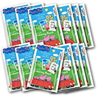 Peppa Pig 12 Set Coloring Pouch with Crayons ( Set of 12 Party Favors)