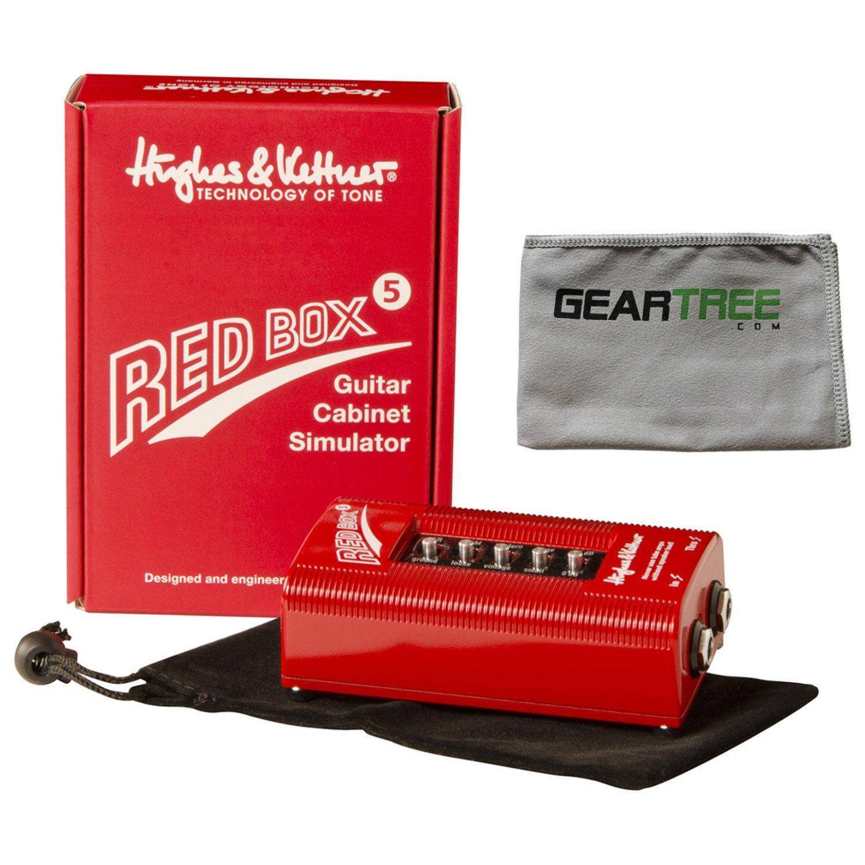 Hughes & Kettner Red Box 5 DI and Speaker Simulator w/Microfiber Geartree Cloth