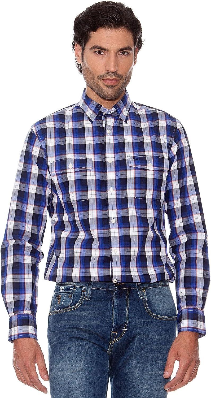 Pedro Del Hierro Camisa Cuadros azul marino XXL: Amazon.es: Ropa y accesorios