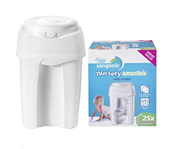 Tommee Tippee Poubelle A Couches Sangenic Nursery Essentials 1