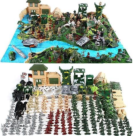 Amazon.com: Cp-Tree - Juego de base militar de 300 piezas ...