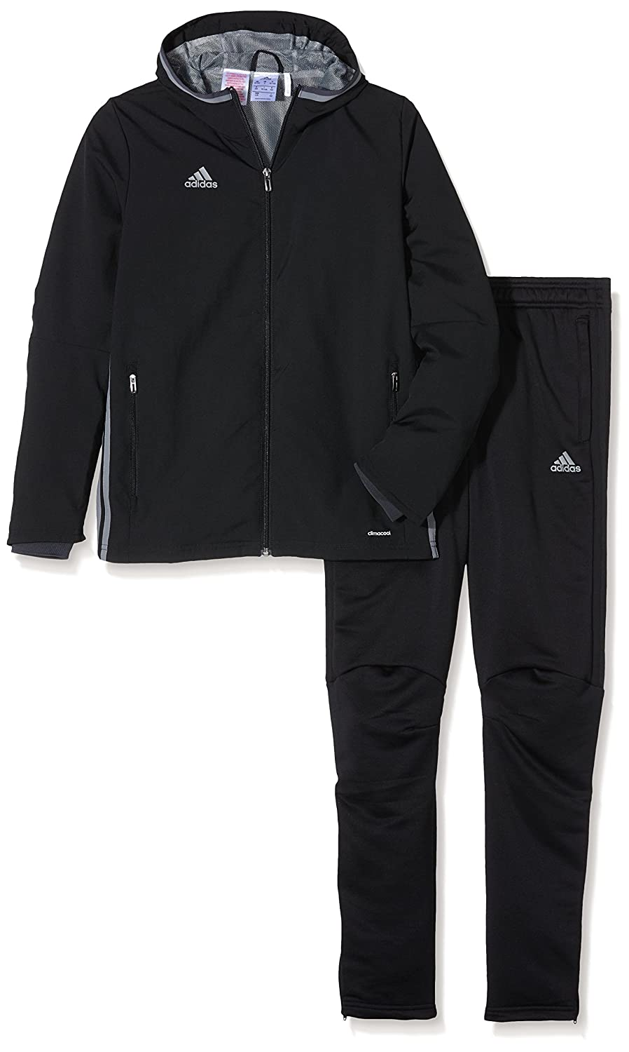 XXR Junior Tracksuit Boys Track Suit Kids Full Zip Jogging Top Bottoms Football Boxing Martial Art Exercise Fitness Yoga Running Gym Clothing