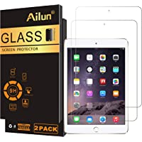 Ailun Screen Protector Compatible for iPad Mini 1 2 3 Tempered Glass 9H Hardness 2Pack Compatible with Apple iPad Mini 1…