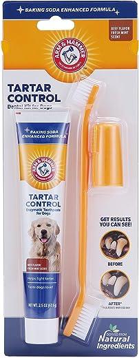 Arm & Hammer Dog Dental Care Tartar Control Kit for...
