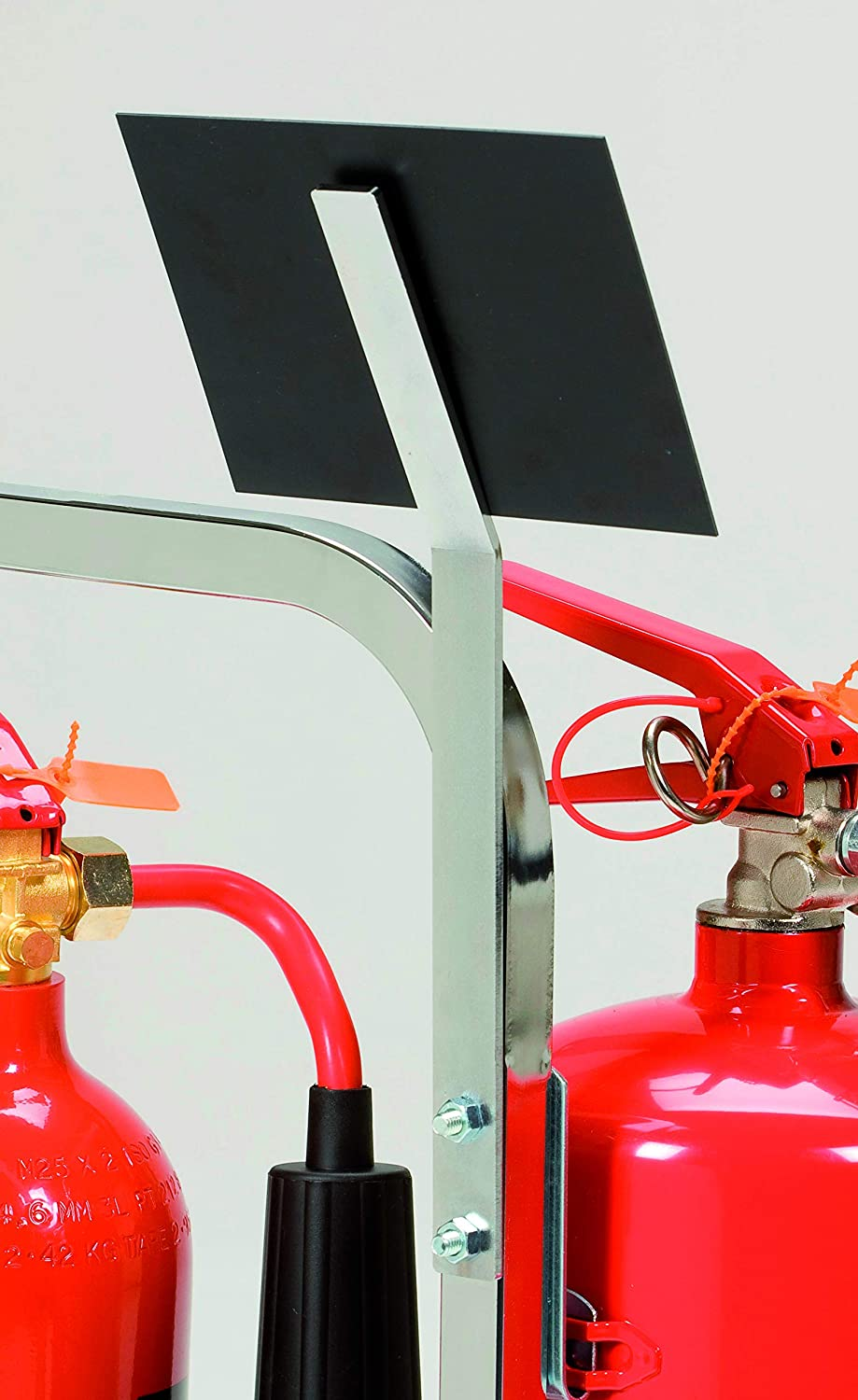 Firechief CFC Plastic sign clip for tubular stands