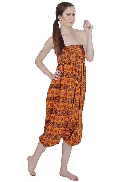 Aakriti Gallery Jumpsuit Indian Party Wear Dress Print Yoga ...