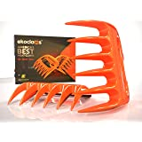 Ekoclaws Meat Claws | Strongest Heat Resistant BPA Free Claws For Shredding Meat | BBQ Accessory For Easy Pulled Pork, Shredded Chicken & Beef | Lifetime Replacement | Shred, Pull, Lift & Carve Food