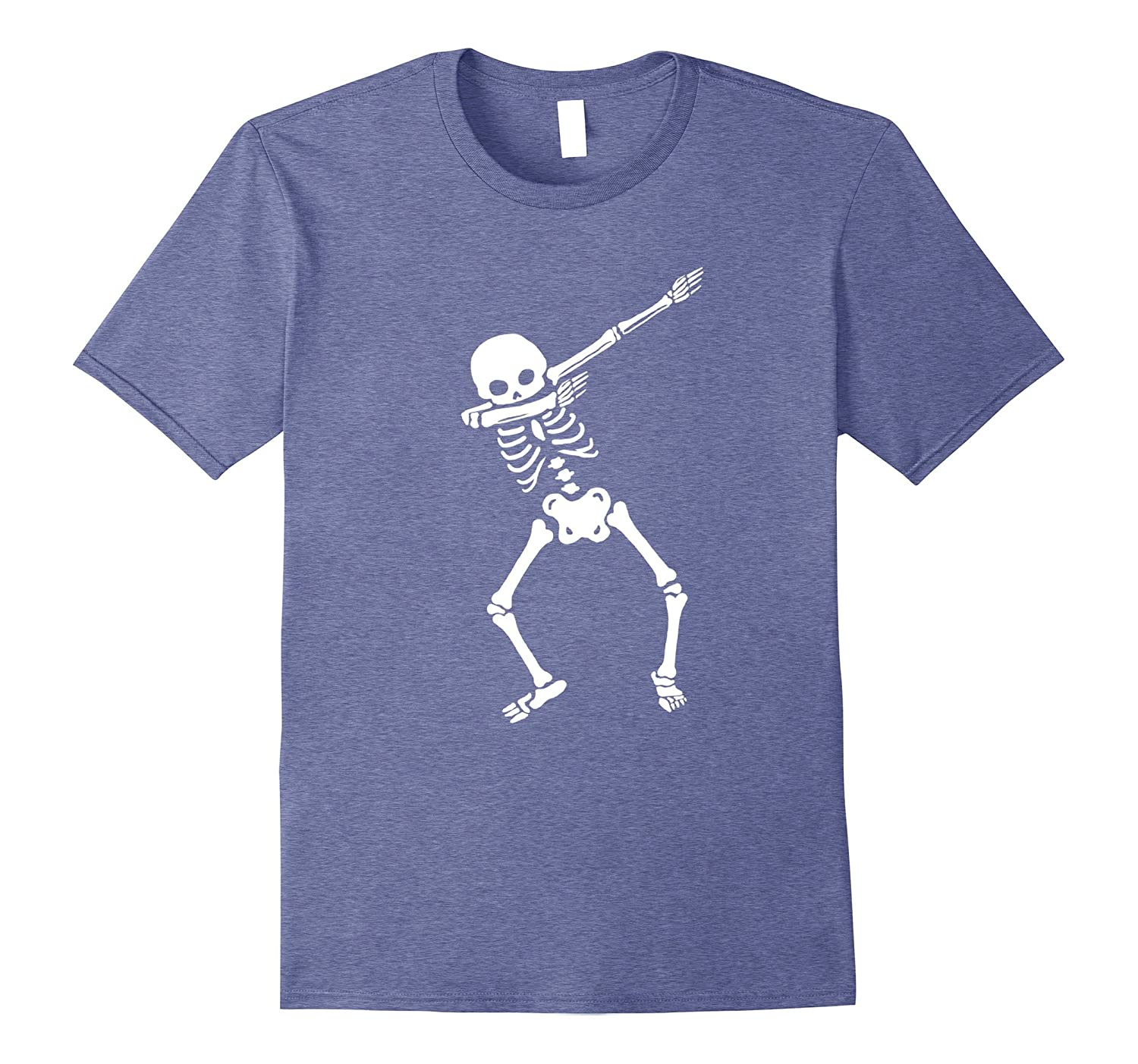 Cool Dabbing Skeleton T Shirt Dab Hip Hop Funny Dance Gift-TD