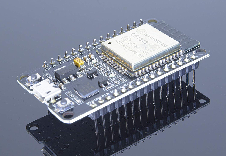 BBOXIM 1PCS ESP32 Development Board WiFi+Bluetooth Ultra-Low Power Consumption Dual Core ESP-32S Antenna Module