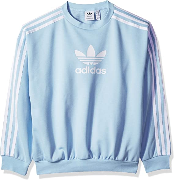 adidas Originals Girls' Big Cc Crew
