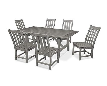 Amazon.com: Polywood Vineyard - Juego de sillas de comedor ...