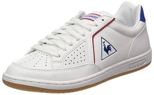225198919131 Le Coq Sportif Unisex Adults  Icons Lea Sport Gum Bass Trainers Optical  White Classic