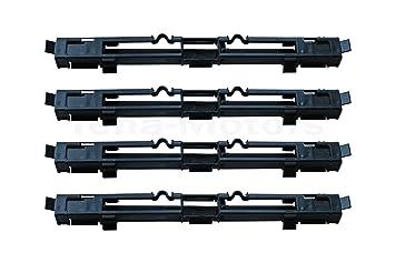 4 x embellecedores de bacas de equipaje para Opel Astra H, Zafira B