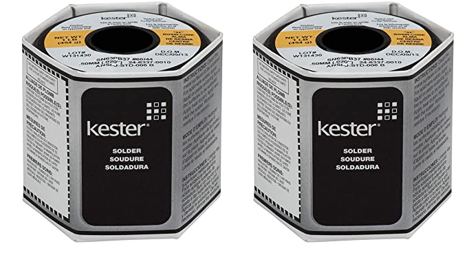 "Kester 44 Rosin Core Solder 63//37 .031/"" 1oz Dispense-Pak"