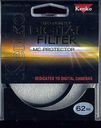 Kenko 62mm Digital MC Protector Screw in Filter Camera   Photo Filters