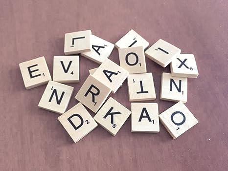 Parete Di Legno Cruciverba : Pick n mix in legno scrabble piastrelle lettere set per giochi da