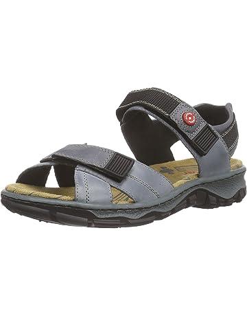 Sandales, chaussures de plage Rieker 68872 13 FeMmE Bleu