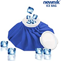NEWNIK COOL PACK/ICE BAG/used for First Aid, Sports Injury, Pain Relief, Cold Therapy Blue