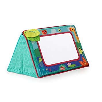 Amazon.com : Bright Starts Sit and See Floor Mirror, Safari : Baby