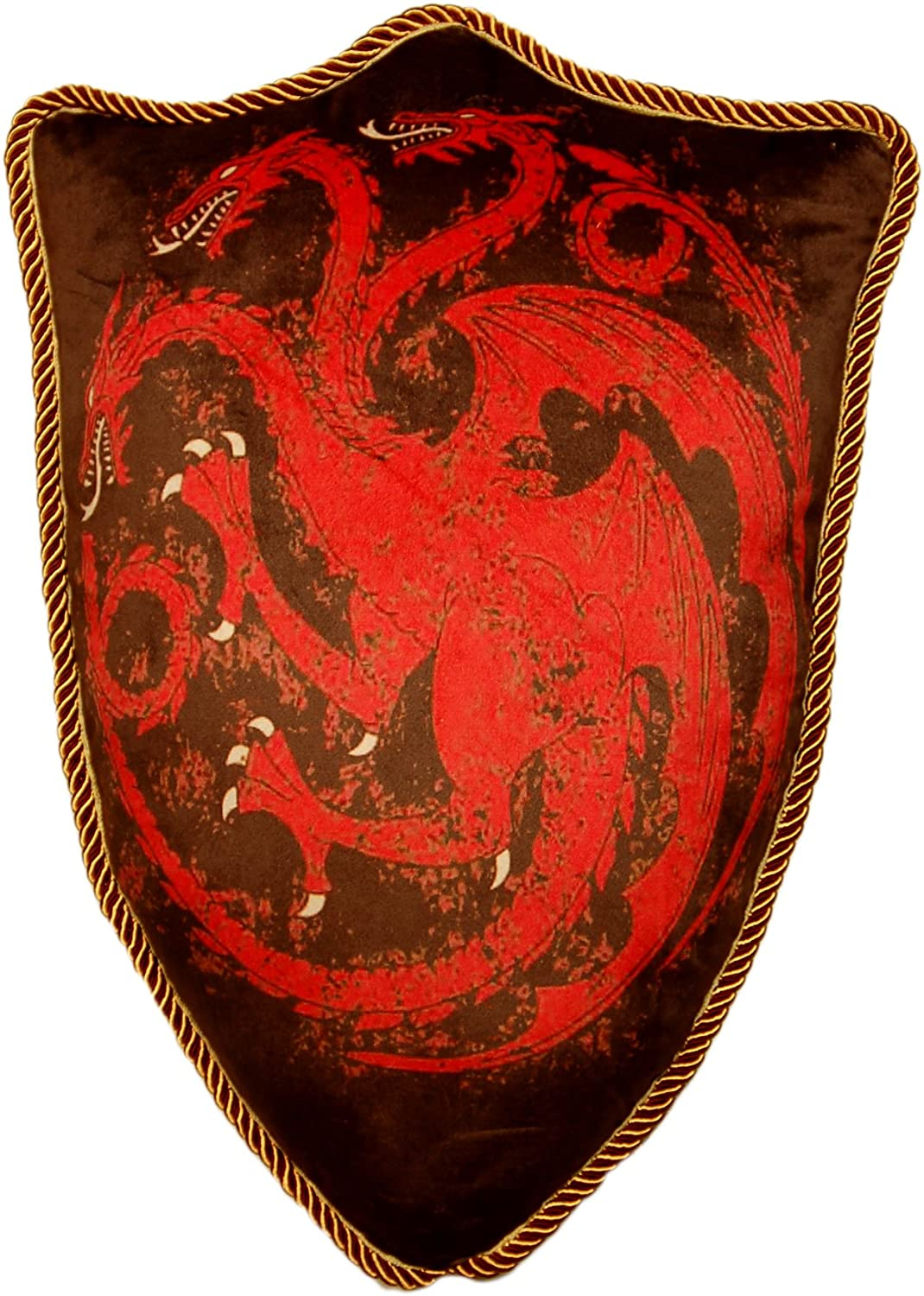 Game of Thrones House Targaryen Dragon Sigil Throw Plush Pillow