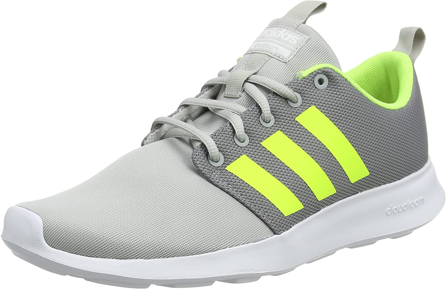 adidas CF Swift Racer, Zapatillas de Entrenamiento para Hombre, Gris (Grey Two/Solar Yellow/Footwear White 0), 44 2/3 EU: Amazon.es: Zapatos y complementos