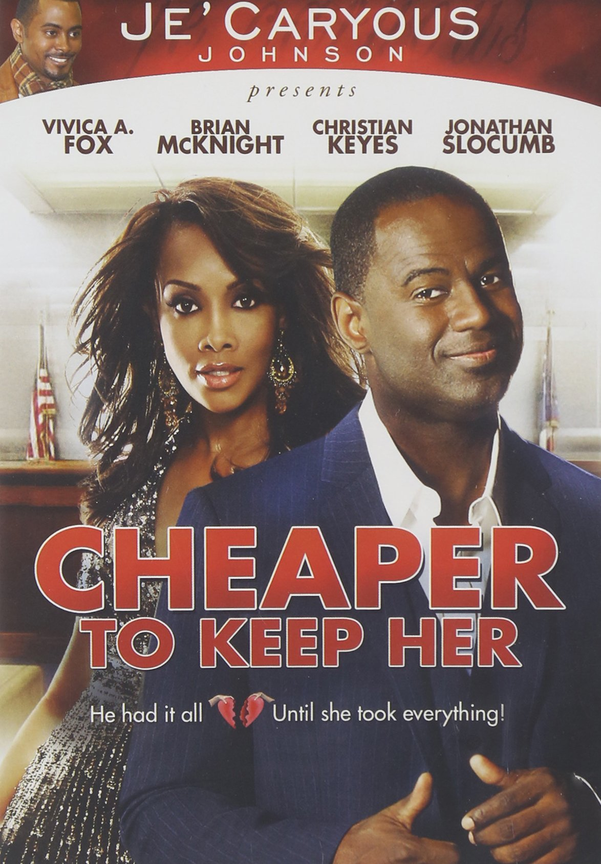DVD : Gary Johnson - Cheaper To Keep Her (Widescreen, Dolby, Subtitled)