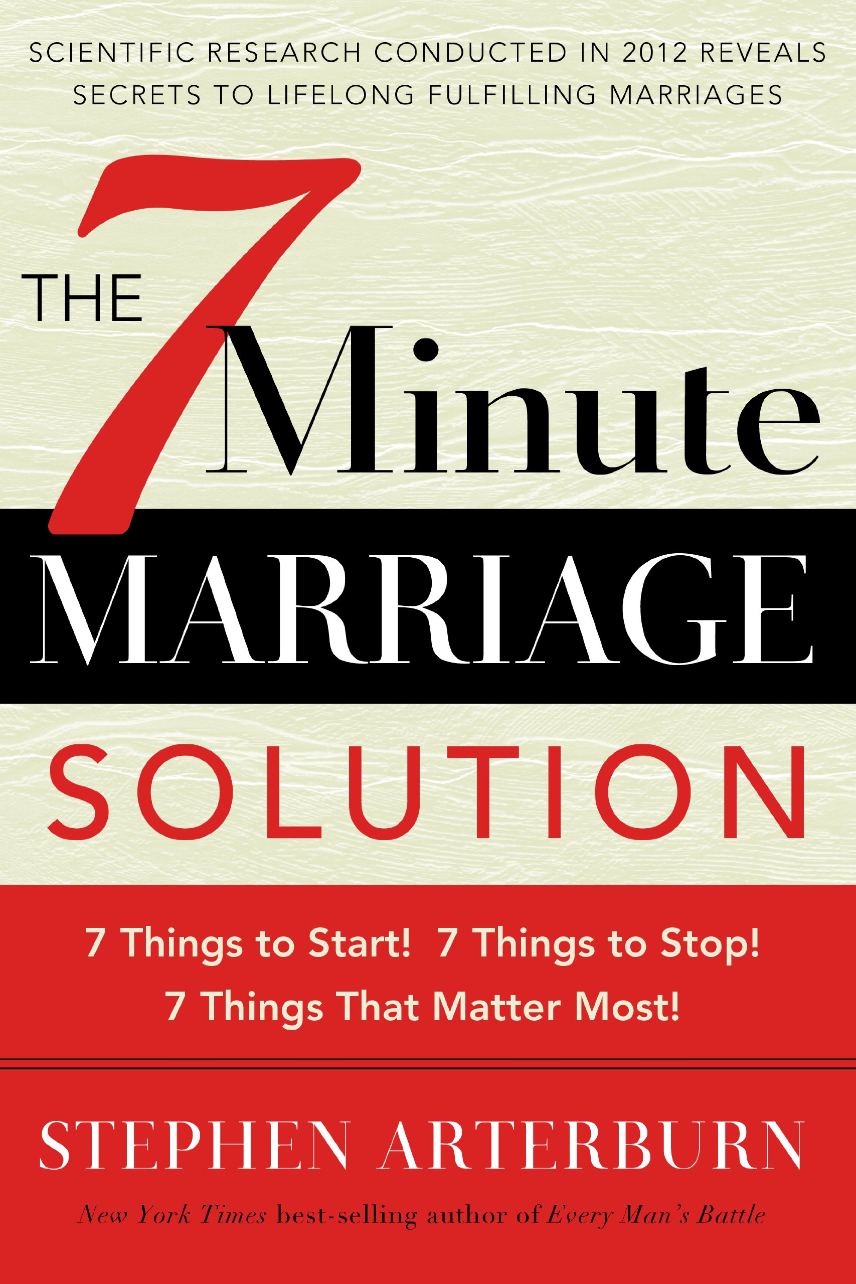 7-Minute Marriage Solution, The: 7 Things to Start! 7 Things to Stop! 7 Minutes That Matter Most! ebook