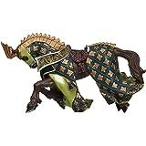 Papo - 39923 - Figurine - Cheval du Maître des Armes Cimier Dragon
