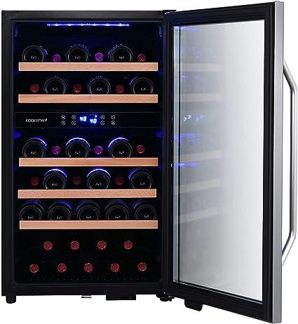 Amazon.com: EdgeStar CWF380DZ - Enfriador de vino de pie con ...