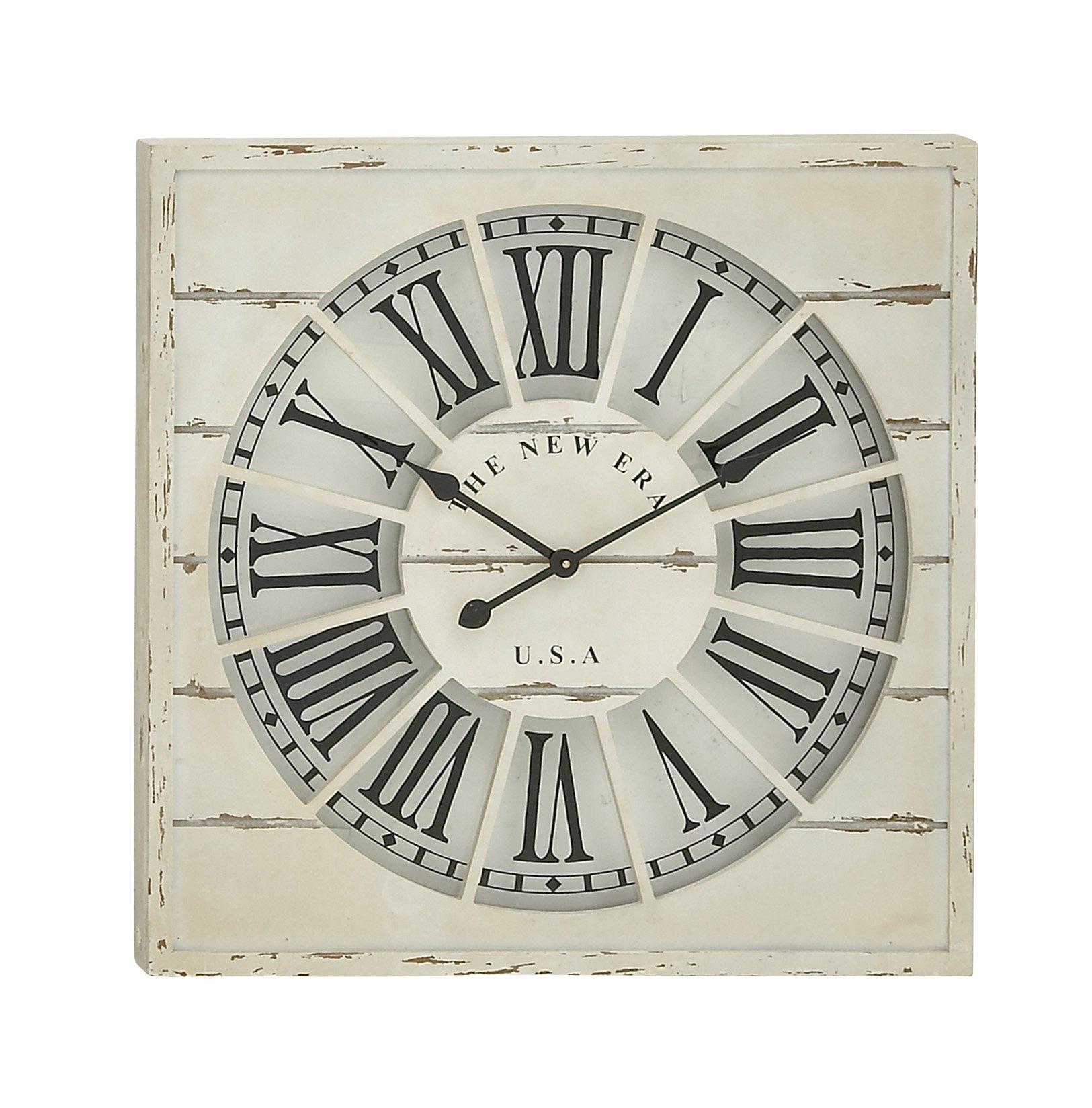 Deco 79 52135 Wood Wall Clock 27'' W, 27'' H