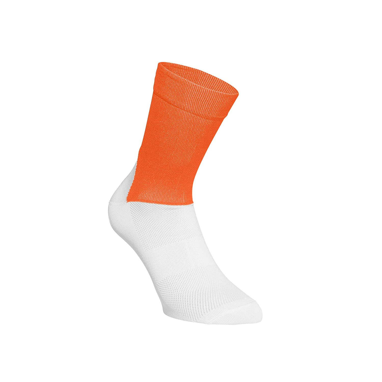 zink orange//hydrogen white UNISEX adulto Arancione // Bianco POC Essential Road calzini 65110 Unisex adulto L//42-44