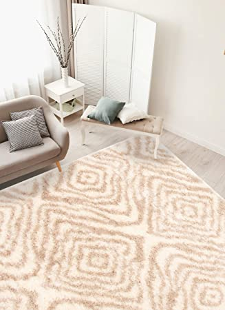 Ecarpetgallery Turkish Area Rug For Living Room Bedroom 6 7 X 9 6 Ivory Tan Furniture Decor