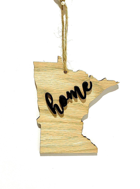 Minnesota State Ornament Keepsake Christmas Decoration Holiday Gift