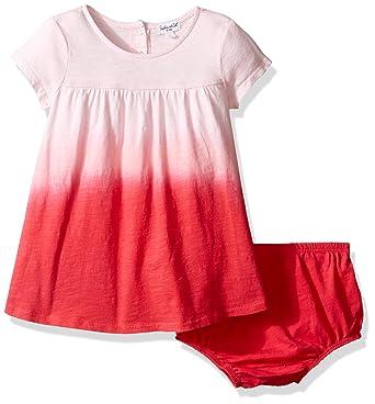 5ce07e3bd3a Amazon.com  Splendid Baby Girls  Dip Dye Dress  Clothing