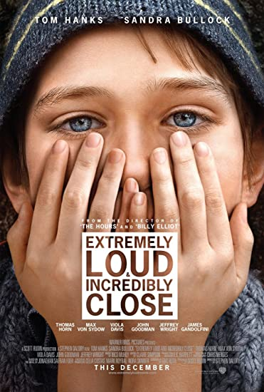 EXTREMELY LOUD AND INCREDIBLY CLOSE Original Movie Poster 27x40 - DS - VERSION A - TOM HANKS - SANDRA BULLOCK