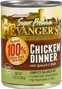 Evanger's Super Premium Chicken Dinner for Dogs