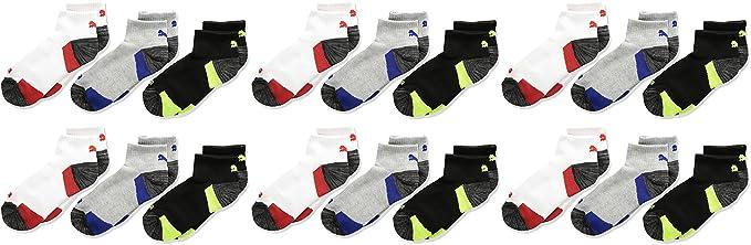 4c8a37910e24 PUMA Boys' 6 Pack Sock